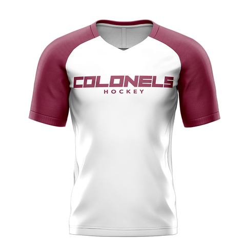 Eastern Kentucky University Custom Sublimated Away Short Sleeve Workout Shirt
