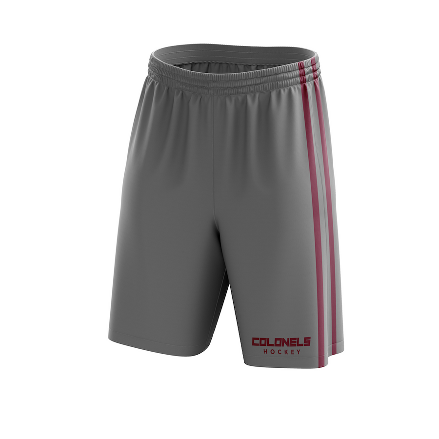 Eastern Kentucky University Custom Sublimated Away Workout Shorts