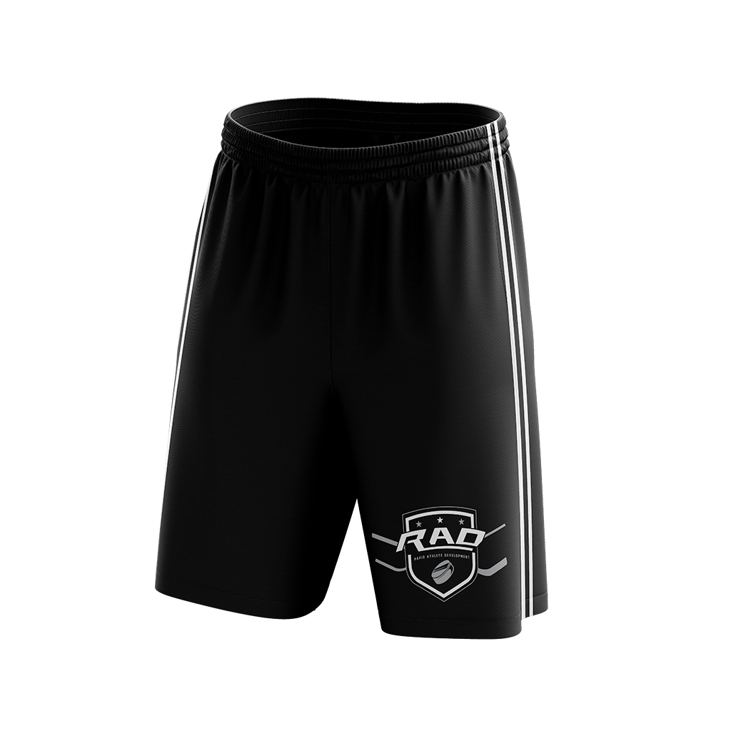 Rad Hockey Custom Sublimated Home Workout Shorts