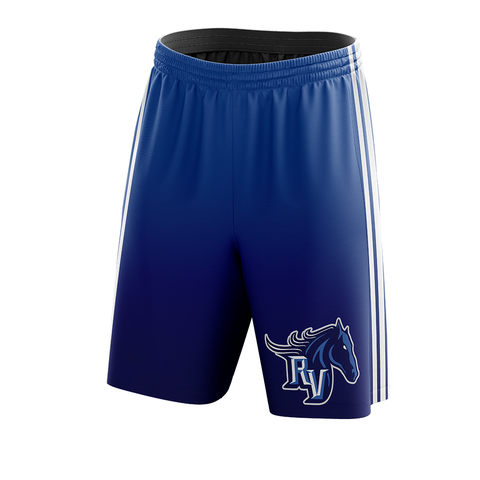Team Ralston Valley Custom Sublimated Home Workout Shorts