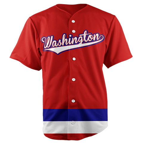 Image of WASHINGTON BASEBALL JERSEY