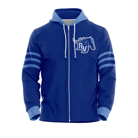 Team Ralston Valley Custom Sublimated Full-Zip Hoodie