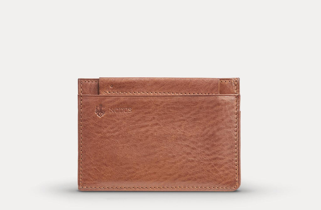 Compact Wallet - The Nodus Collection - Slim, Minimalist, RFID-Enabled Leather Wallet