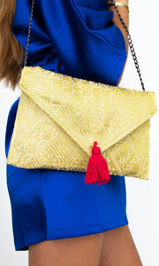 Royal Gold pouch