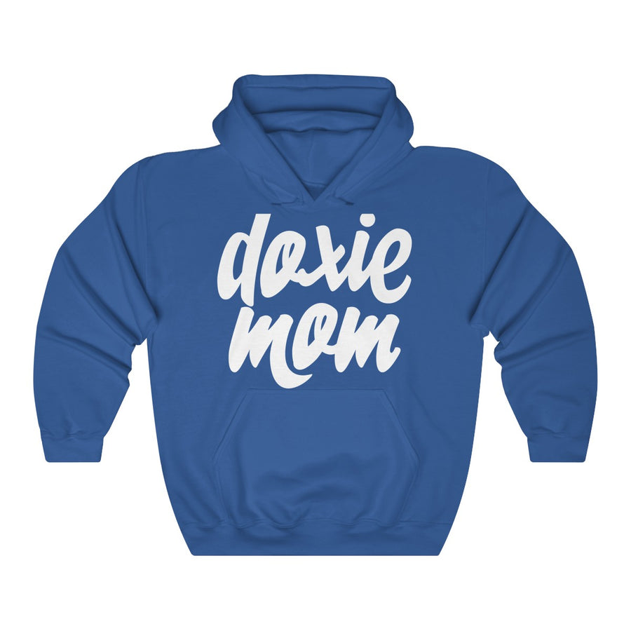 Doxie Mom Heavy Blend™ Hooded Sweatshirt for Dachshund Lovers - Happy Tails