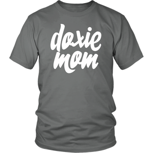 Doxie Mom Cotton T-Shirt for Dachshund Lovers - Happy Tails