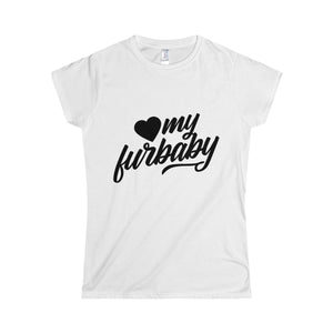 Love My Furbaby Softstyle Women's T-Shirt - Happy Tails