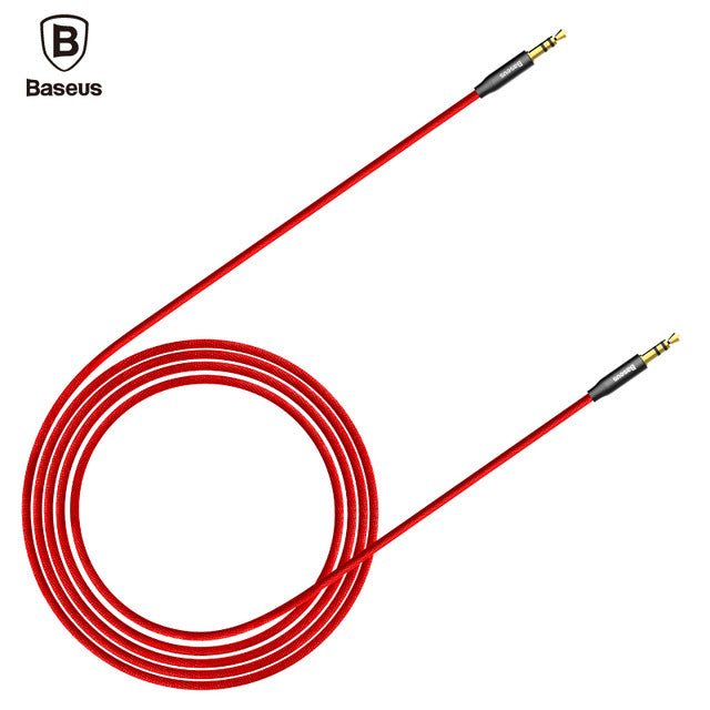 Gold Plated Aux Cable