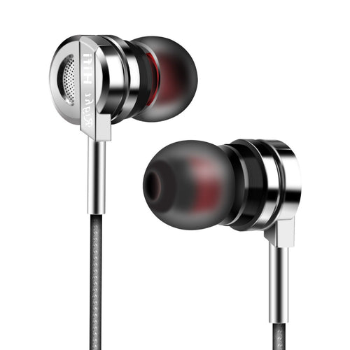 Headphone With Earbuds And Microphone.