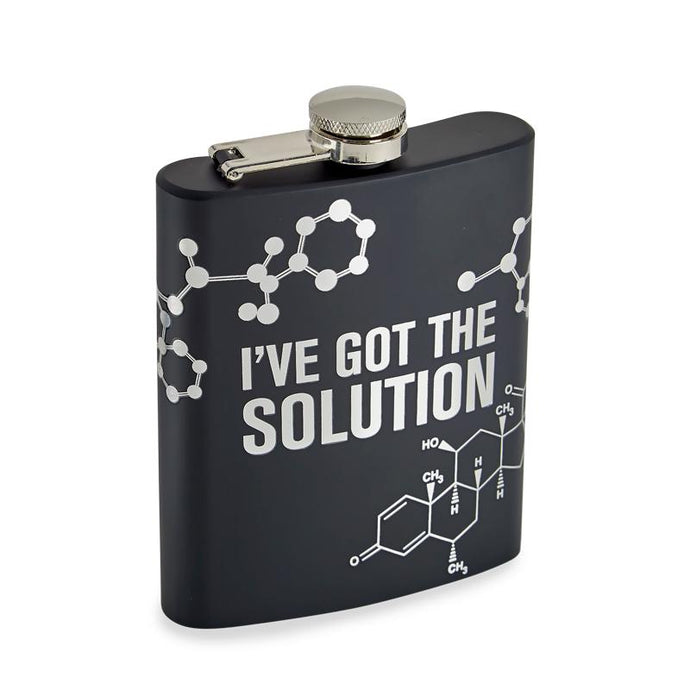 I've Got The Solution Flask