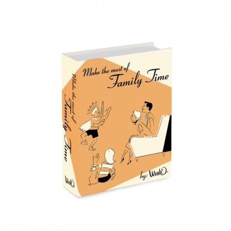 Family Time Book Flask