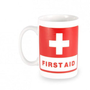 First Aid Ceramic Coffee Mug