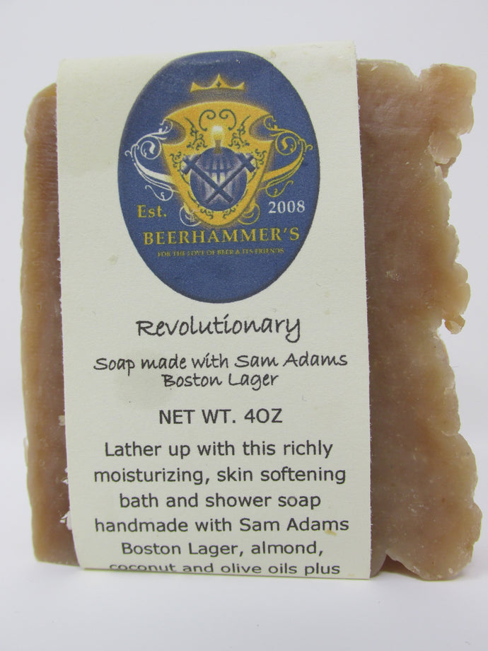 Revolutionary Soap (made with Sam Adams Boston Lager)
