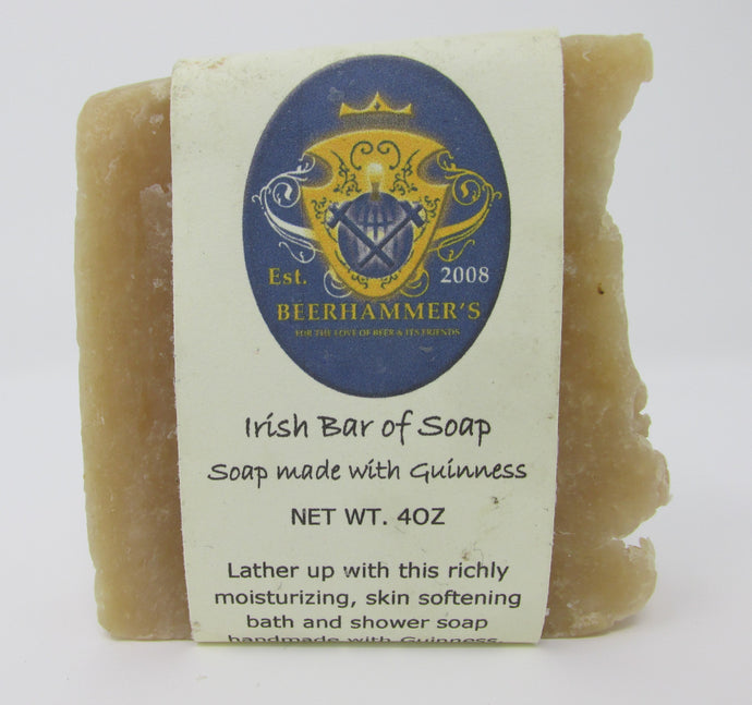 Irish Bar of Soap (soap made with Guinness)