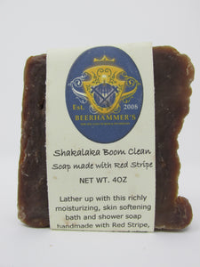 Shakalaka Boom (soap made with Red Stripe)