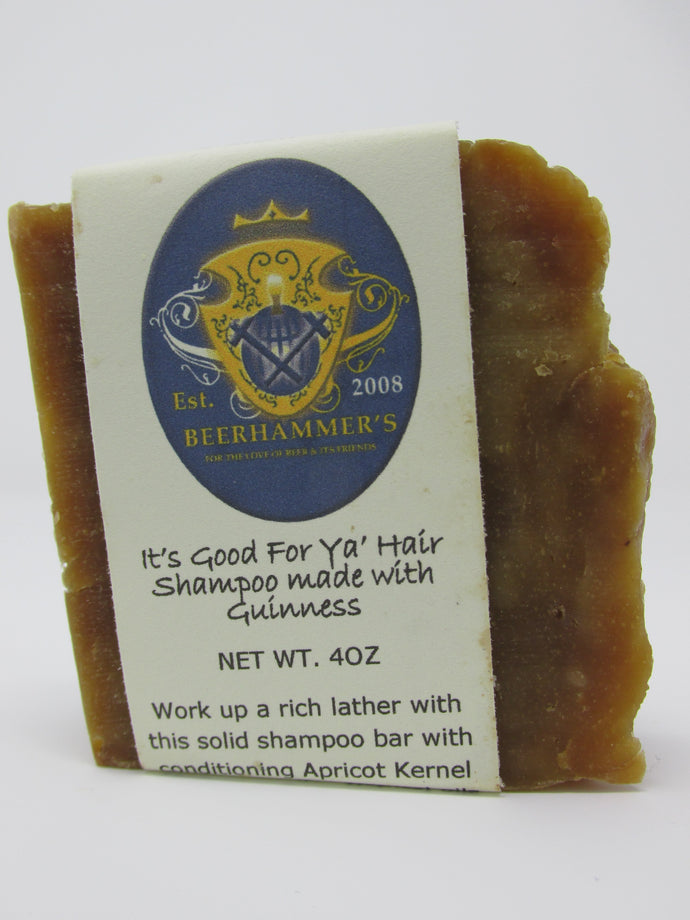 Good For Ya Hair (shampoo made with Guinness)