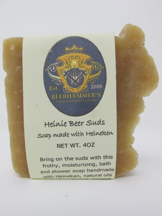 Heinie Beer Suds (soap made with Heineken)