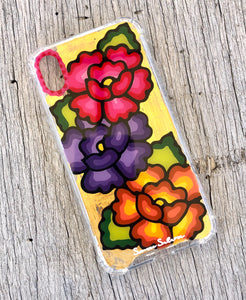 Flores iPhone XR case