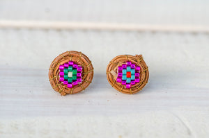 Fabiola stud earrings (small)
