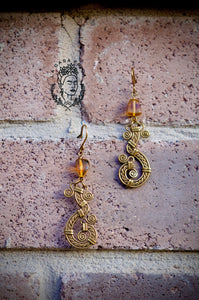 Ambar artisan earrings