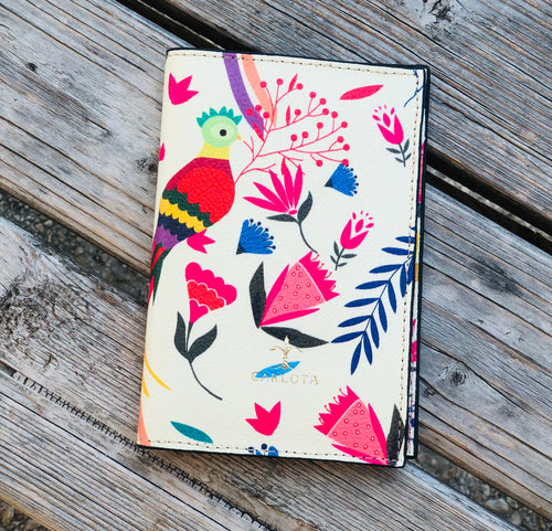 Quetzal passport holder