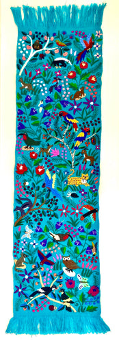 Selva turquesa table runner