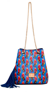 Guacamaya bucket bag