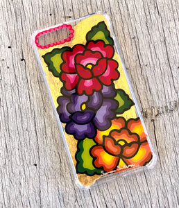 Flores iPhone 7/8 plus case