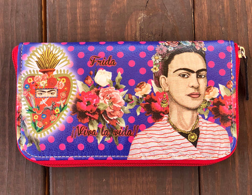 Polka dots Frida wallet
