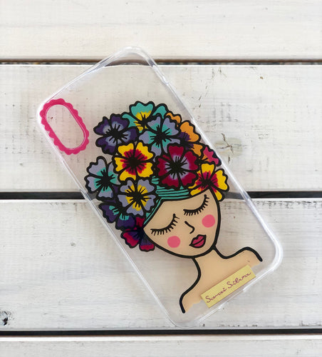 Muñeca iPhone X case