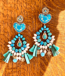 Azucena earrings