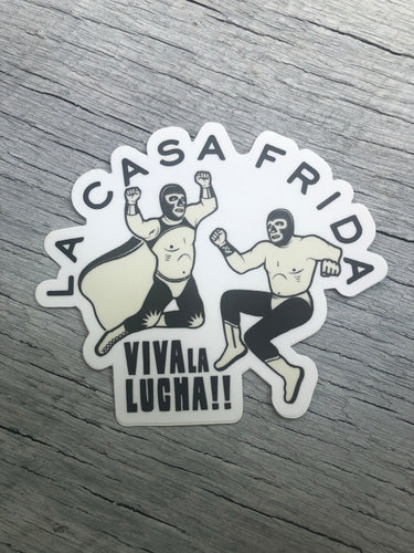 Viva la Lucha! Sticker