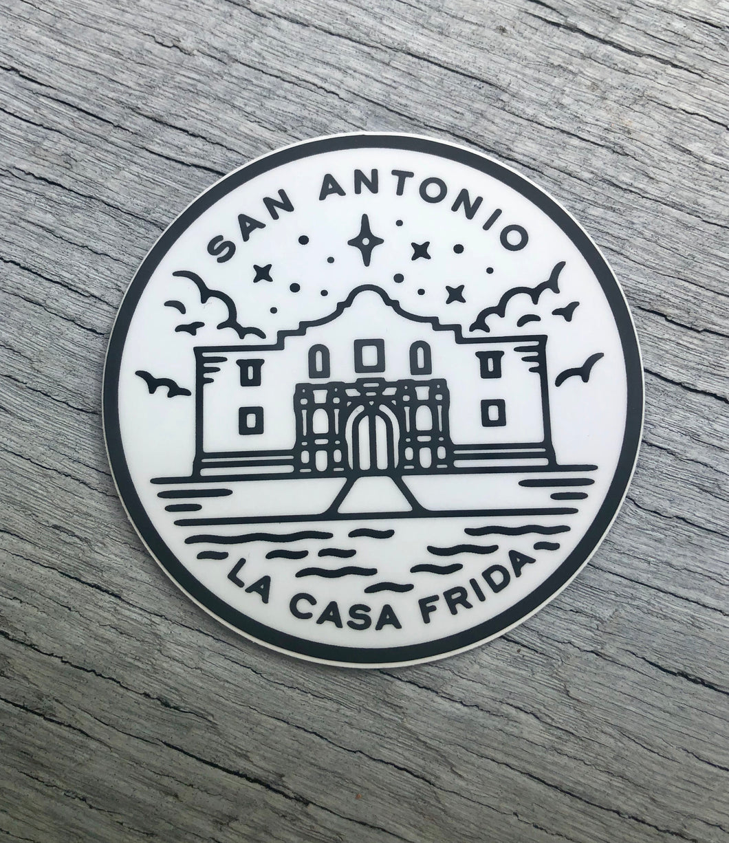El Alamo sticker