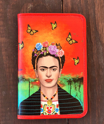 Frida mariposas passport holder