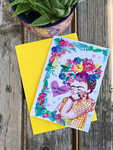 Feel Frida greeting card