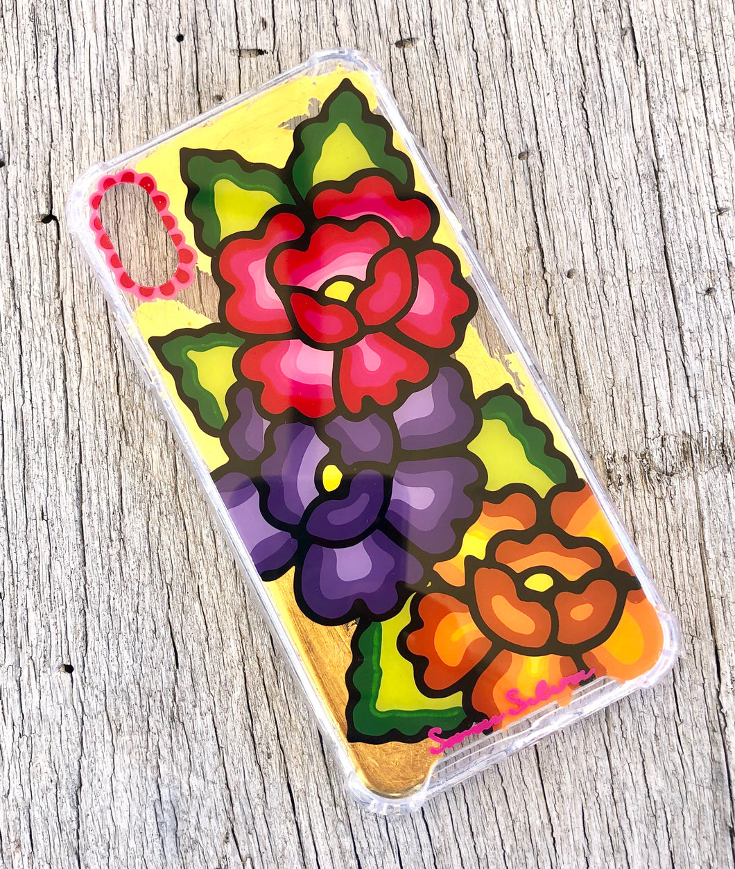 Flowers iPhone Xmax case