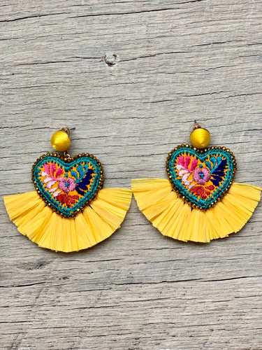 Arcoíris earrings