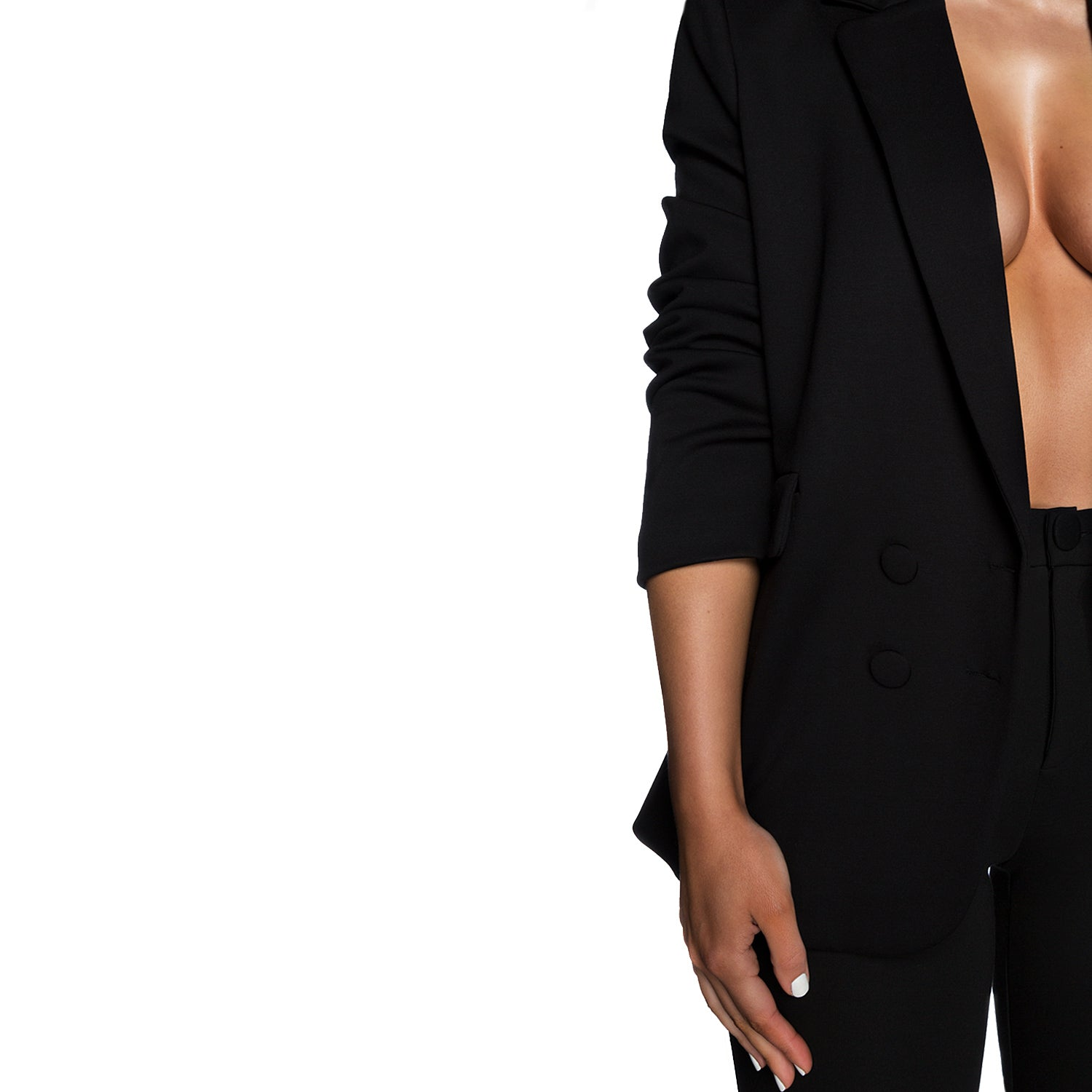 The Birthday Suit Pants (Black)