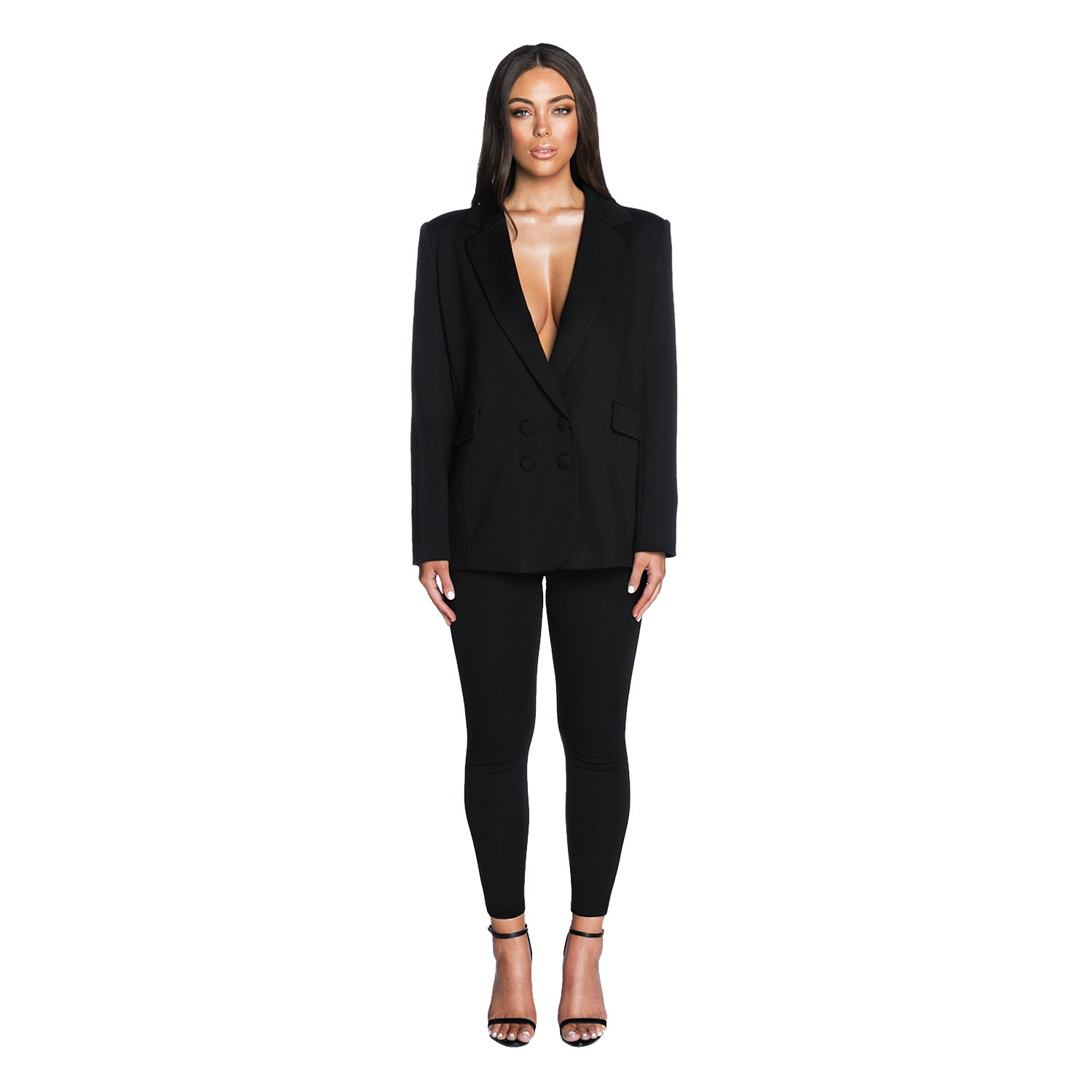 The Birthday Suit Blazer (Black)