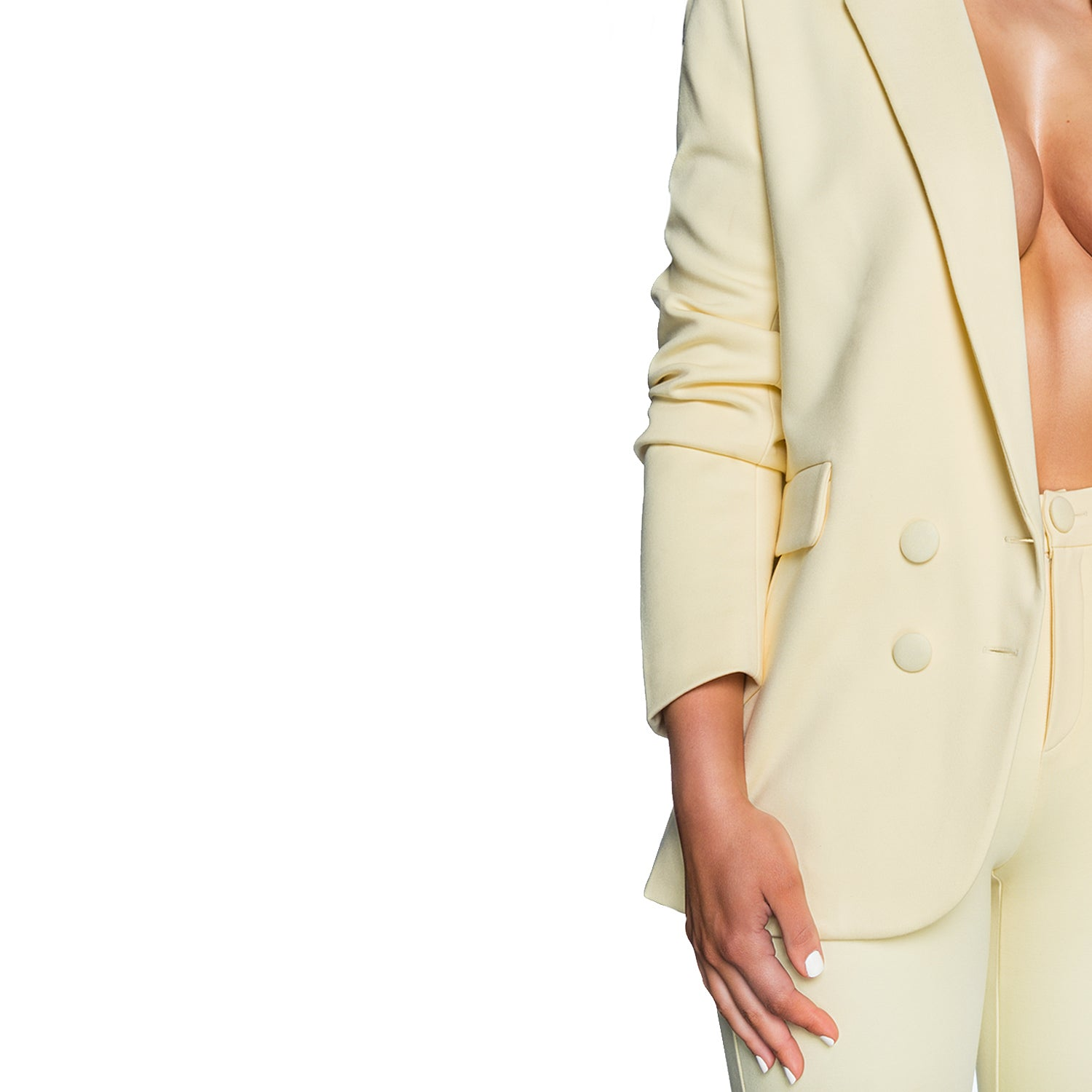 The Birthday Suit Blazer (Butter)