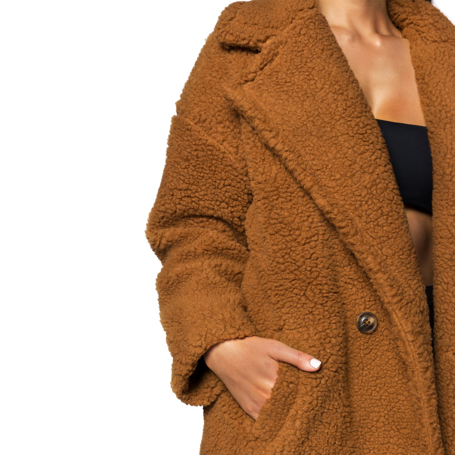 The Teddy Coat (Brown)