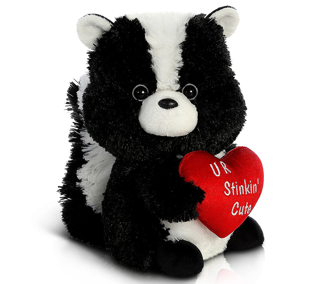 "Aurora Val Sayings_Love Stinks Skunk 9"" Plush Toys"