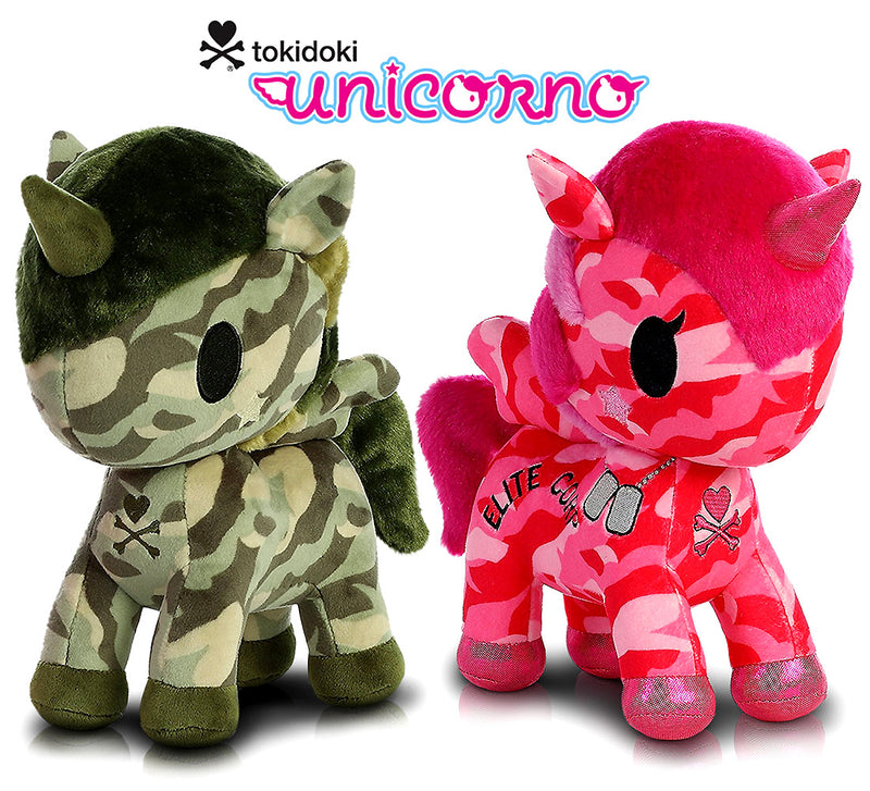 "Aurora Tokidoki Sgt. Rumble Special Edition 11"" And G.I. Jane Special Edition 11"" Plush Plush Toys"