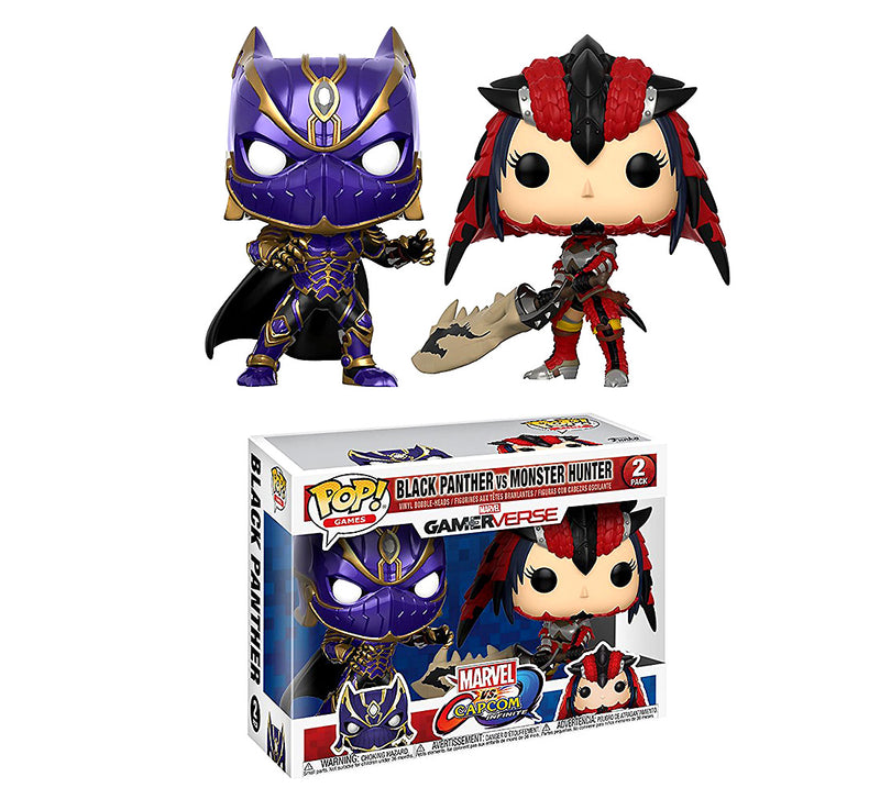 Games Black Panther and Monster Hunter Action Figure. Sold by WarpGadgets.com