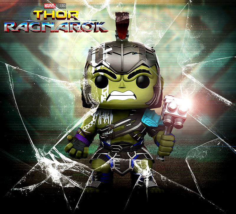 Marvel Thor Ragnarok Hulk Helmeted Gladiator Action Figure. Sold by WarpGadgets.com