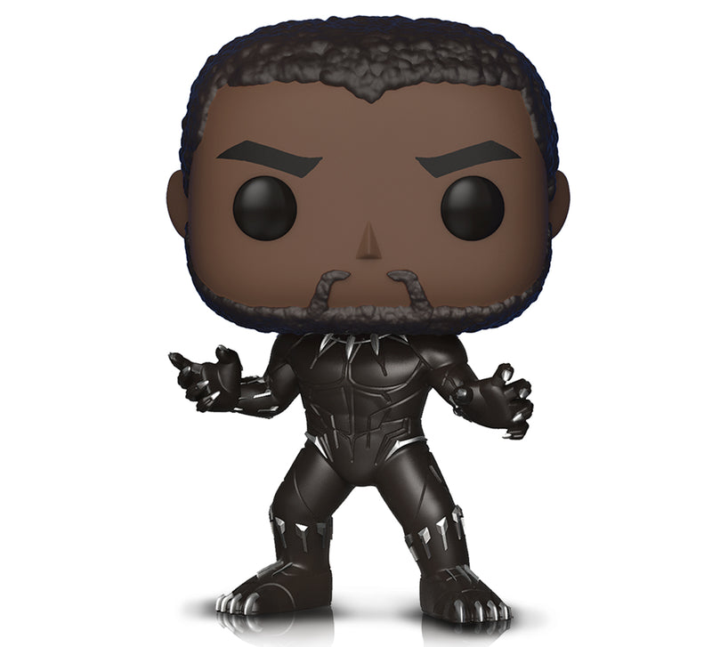 Pop Marvel Black Panther and Warrior Fall Action Figures