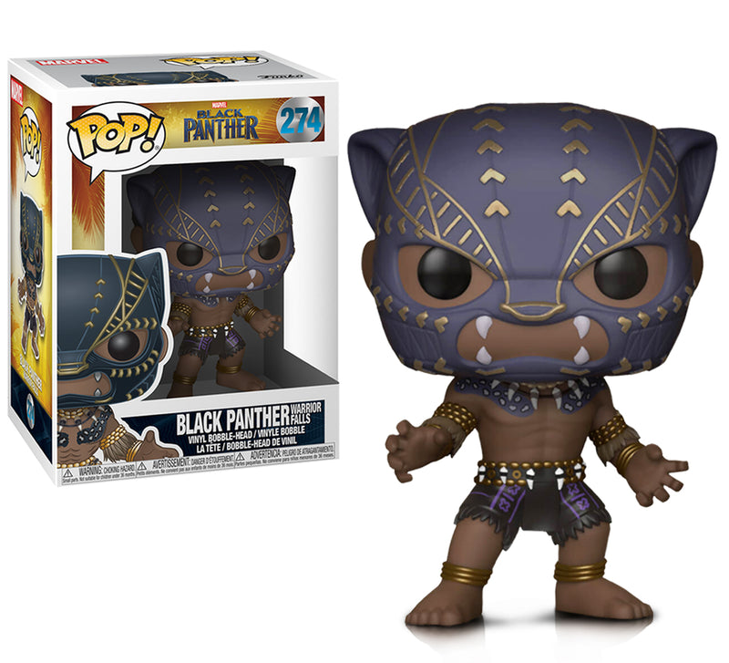 Marvel Black Panther Warrior fall Action Figure. Sold by WarpGadgets.com