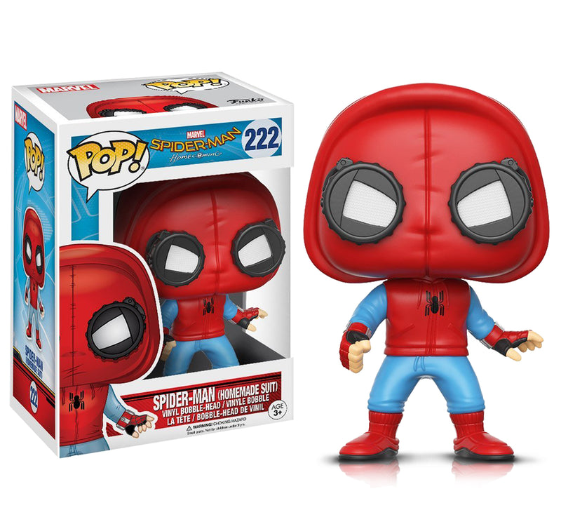 Pop Marvel Spider-Man and Spider-Man Proto Action Figures
