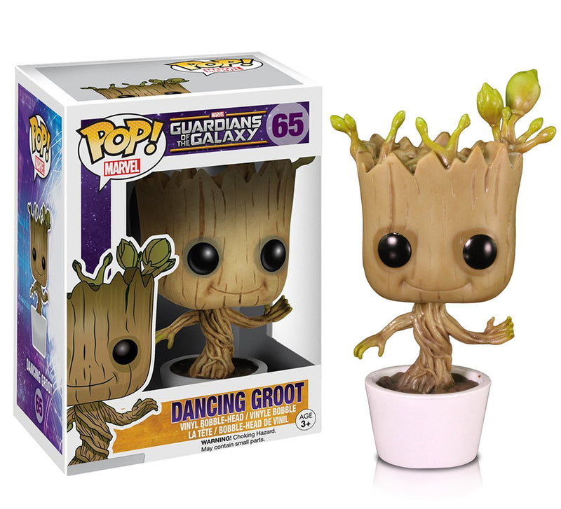 Marvel GOTG Dancing Groot Action Figure. Sold by WarpGadgets.com