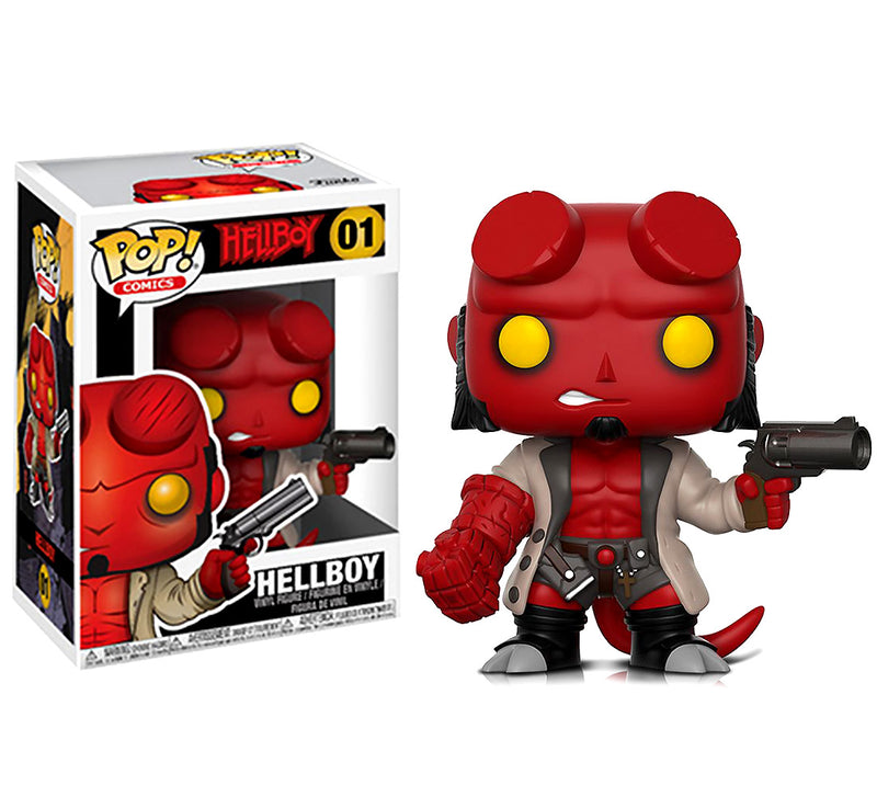 Pop Comics Hellboy Vinyl Action Figure. Free Shipping on all USA orders. Sold by WarpGadgets.com